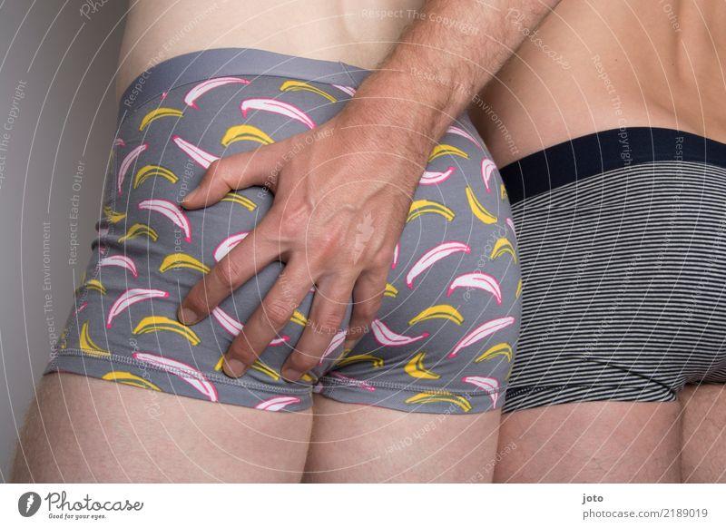 Bananas Jugendliche nackt Junger Mann Erotik Liebe Freiheit Paar Zusammensein maskulin berühren sportlich Vertrauen Leidenschaft Gesäß Mut Partnerschaft