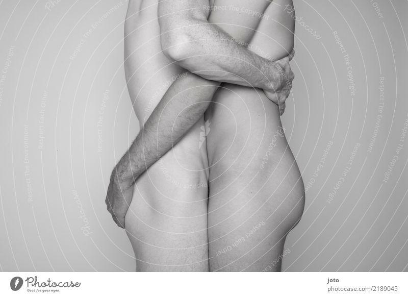 liebe kennt kein geschlecht Homosexualität Mann Erwachsene Paar Partner 2 Mensch berühren festhalten Zufriedenheit Kraft Mut Leidenschaft Akzeptanz Vertrauen