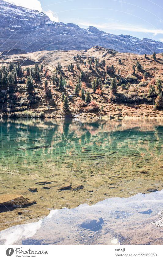 Engstlensee Erholung Ferien & Urlaub & Reisen Tourismus Sommer Berge u. Gebirge wandern Umwelt Natur Landschaft Himmel Schönes Wetter Alpen See außergewöhnlich