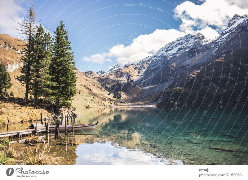 Engstlensee Himmel Natur Ferien & Urlaub & Reisen Sommer Landschaft Erholung Berge u. Gebirge Umwelt außergewöhnlich Tourismus See wandern Schönes Wetter Alpen