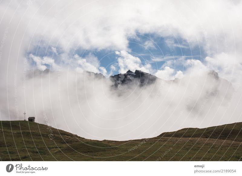 Wolkenloch Natur Landschaft Berge u. Gebirge Umwelt Herbst außergewöhnlich Tourismus Wetter Schönes Wetter Klima Gipfel Hügel Alpen Klimawandel