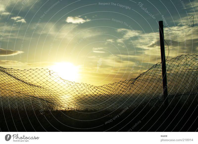 Schönen Abend ... Umwelt Natur Landschaft Urelemente Luft Himmel Wolken Horizont Schönes Wetter Küste Meer Zeichen fantastisch frei Unendlichkeit schön Freiheit