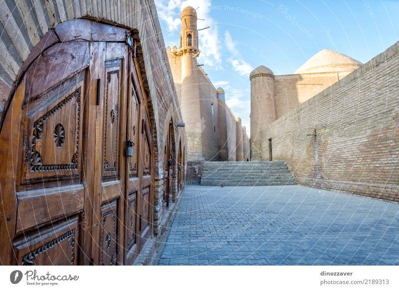 Altstadt von Chiwa, Usbekistan alt Stadt Farbe Straße Architektur Religion & Glaube Stil Kunst Tourismus Design Dekoration & Verzierung groß Asien Tradition