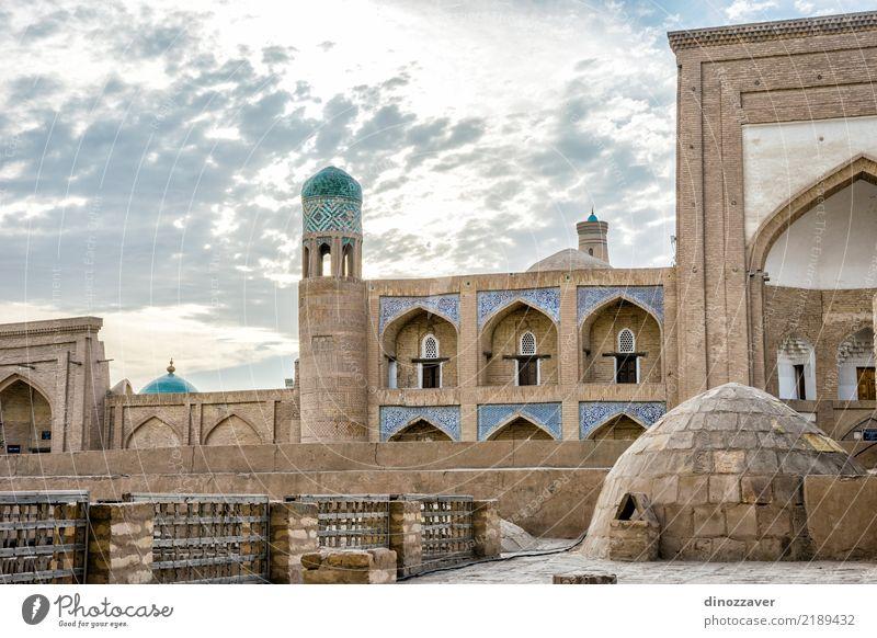 Altstadt von Chiwa, Usbekistan Sightseeing Haus Dekoration & Verzierung Stadt Gebäude Architektur Ornament alt blau Religion & Glaube Tradition Khiva Islam