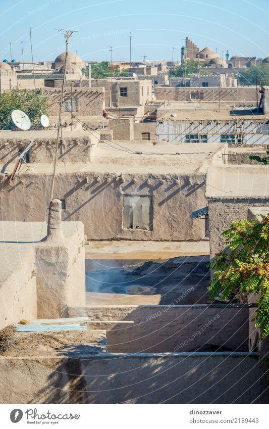 Altstadt von Chiwa, Usbekistan Stil Design Dekoration & Verzierung Stadt Stadtzentrum Skyline Gebäude Architektur Ornament alt groß Farbe Religion & Glaube