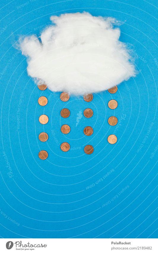 #AS# Geldregen in Windstille Kunst Kunstwerk ästhetisch gebastelt Wolken Regen Wetter wetterfest Wetterdienst Wetterumschwung Wetterstation Wettergott