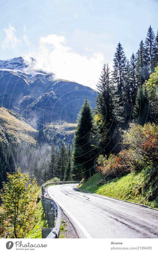 Doppeldeutigkeiten | Passkontrolle Ferien & Urlaub & Reisen Ferne Freiheit Berge u. Gebirge Landschaft Himmel Schönes Wetter Felsen Alpen Schneebedeckte Gipfel