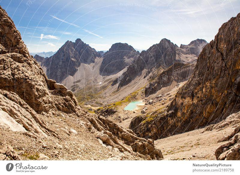 highland view in the lech apls Natur Ferien & Urlaub & Reisen Pflanze Sommer Landschaft Erholung ruhig Freude Ferne Berge u. Gebirge Leben Religion & Glaube