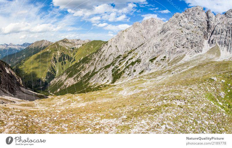 panorama platzbach velley Ferien & Urlaub & Reisen Sommer Winter wandern Klettern Bergsteigen Natur Luft Schönes Wetter Wald Hügel Felsen Alpen Berge u. Gebirge