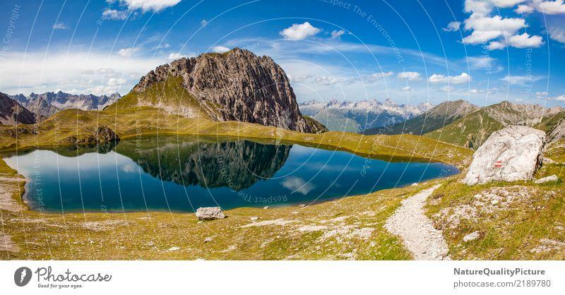 idyllic reflection in kogelsee Natur Ferien & Urlaub & Reisen Sommer Erholung ruhig Ferne Wald Berge u. Gebirge Leben Wärme Religion & Glaube Gesundheit