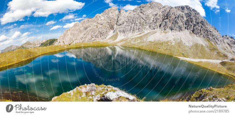 reflection panorama kogelsee Natur Ferien & Urlaub & Reisen Sommer schön Erholung ruhig Freude Ferne Berge u. Gebirge Leben Religion & Glaube Küste Bewegung