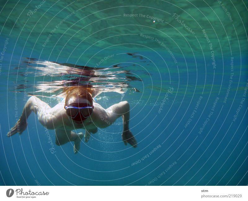 der froschmann [beyond the sea 13] Ferien & Urlaub & Reisen Freiheit Sommer Sommerurlaub Sonne Strand Meer Insel Wellen Sport Fitness Sport-Training Sportler