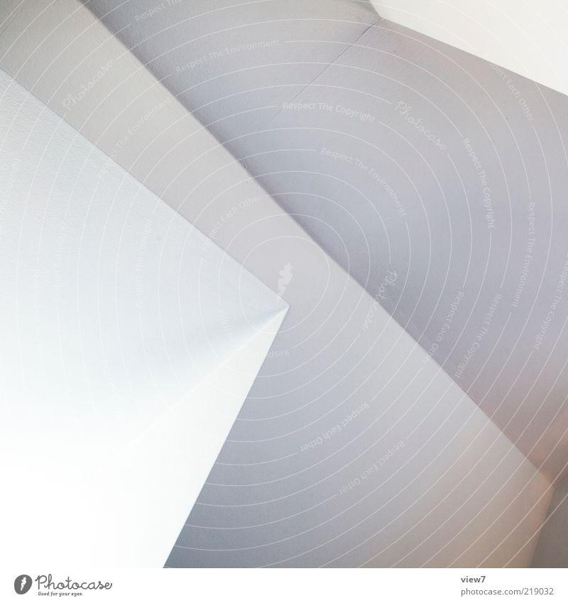 einfall weiß Ferne Wand oben Stein Mauer Linie Design elegant Fassade frisch Perspektive modern Ordnung ästhetisch authentisch