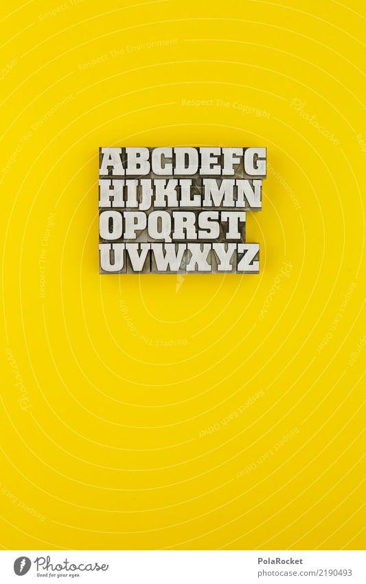 #AS# ABCDEFGHIJKLMNOPQRSTUVWXYZ Kunst Kunstwerk Printmedien ästhetisch Auswahl Lateinisches Alphabet alphabetisch Griechisches Alphabet gelb Gelbstich