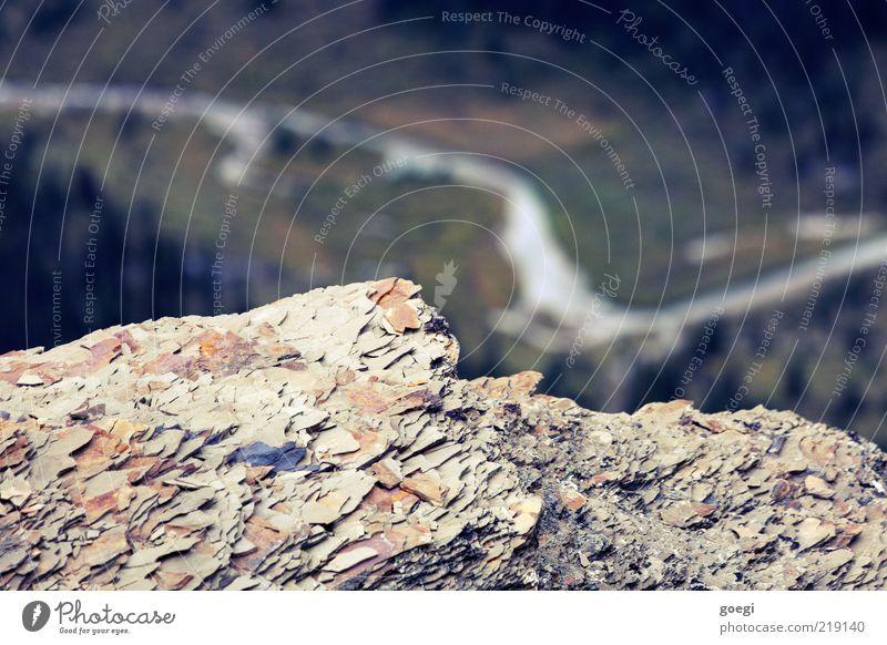 Erosion Natur Umwelt Landschaft Berge u. Gebirge Stein Feld Felsen Fluss Hügel Aussicht Am Rand Kanada Tal Verlauf Amerika Schiefer