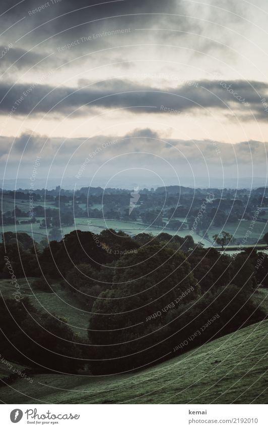 Ruhiger Morgen harmonisch Wohlgefühl Zufriedenheit Sinnesorgane Erholung ruhig Freizeit & Hobby Ausflug Abenteuer Ferne Freiheit Natur Landschaft Himmel Wolken