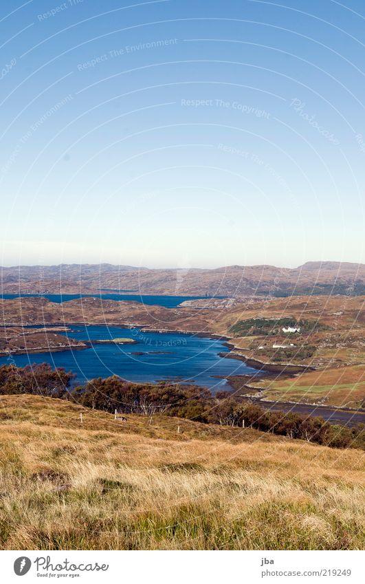 Highlandcoast Ferien & Urlaub & Reisen Ausflug Ferne Freiheit Meer Natur Landschaft Wasser Himmel Herbst Küste Bucht Nordsee Schottland Europa schön blau