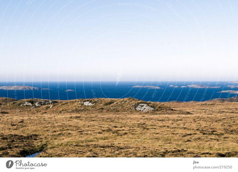 Highlandcoast II Ferien & Urlaub & Reisen Ausflug Ferne Freiheit Meer Umwelt Natur Landschaft Luft Wasser Himmel Horizont Herbst Schönes Wetter Pflanze Gras