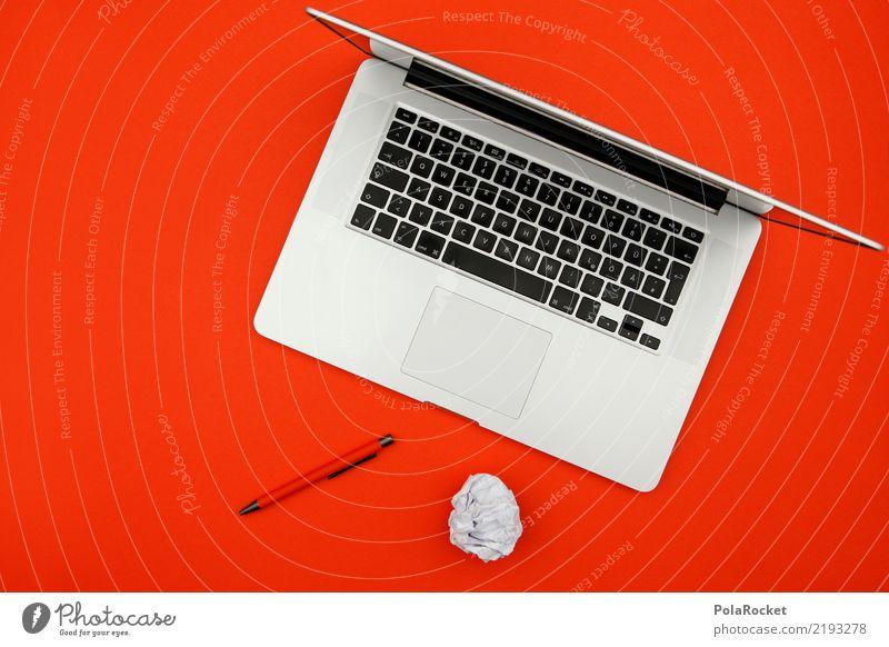 #AS# work tools reloaded weiß rot Arbeit & Erwerbstätigkeit ästhetisch Kreativität Idee Papier Buchstaben schreiben Beruf Falte Wissenschaften Sitzung Tastatur