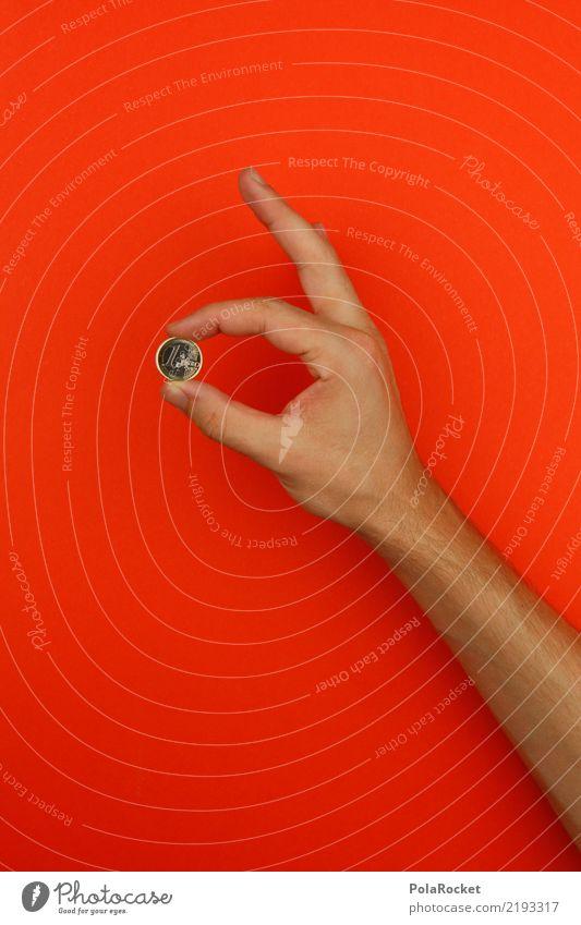 #AS# ... ist den Euro nicht wert. Kunst ästhetisch Europa Eurozeichen Europäische Zentralbank festhalten 1 Farbfoto mehrfarbig Innenaufnahme Studioaufnahme