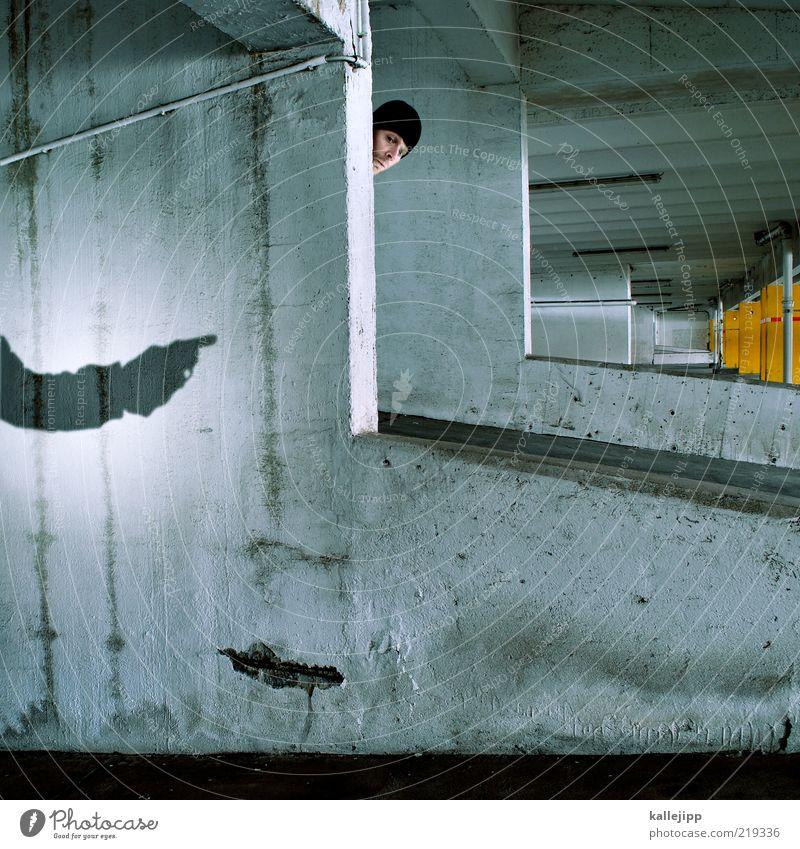 der frosch mit der maskemütze Mensch Mann Hand Erwachsene Kopf Angst Arme gefährlich beobachten bedrohlich Filmindustrie gruselig Todesangst Jagd Gewalt Stress
