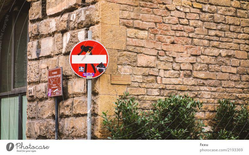 Stoppschild Straße Kunst Verkehr Schilder & Markierungen gefährlich Hinweisschild bedrohlich stoppen Risiko Figur Warnhinweis Straßenkunst Halt Warnung