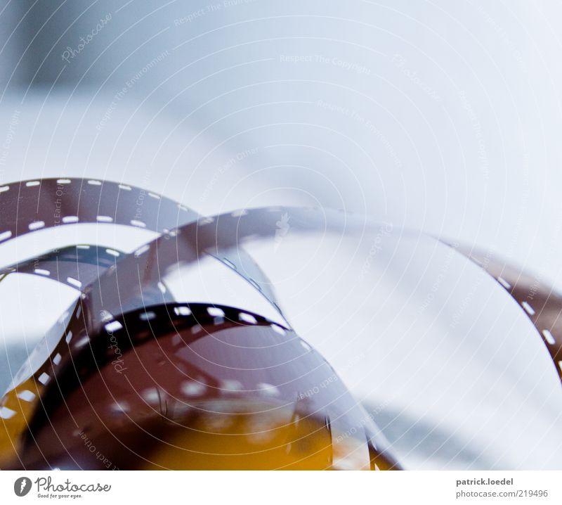 Der Stoff aus dem die Träume sind Fotografieren retro braun Fototechnik Perforierung Farbfoto Gedeckte Farben Innenaufnahme Nahaufnahme Detailaufnahme
