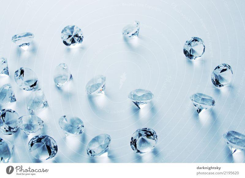 Diamonds All Over blau weiß Liebe grau elegant ästhetisch Glas authentisch kaufen Industrie Coolness Sauberkeit Sicherheit exotisch Reichtum Schmuck