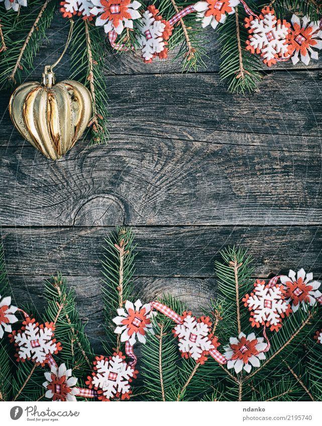 Weihnachtsgrauer hölzerner Hintergrund Design Winter Dekoration & Verzierung Tisch Feste & Feiern Weihnachten & Advent Silvester u. Neujahr Baum Spielzeug Holz