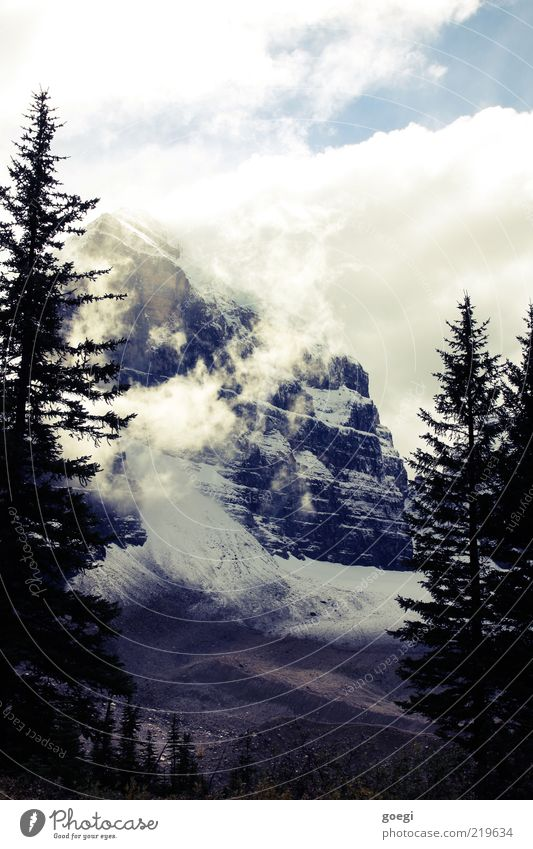 plain of the six I Himmel Natur Baum Wolken Wald kalt Schnee Herbst Freiheit Berge u. Gebirge Landschaft Umwelt Eis Felsen Frost Gipfel
