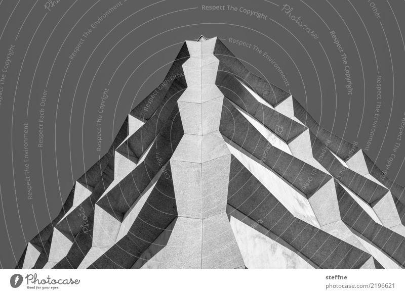 Around the World: Yale University Haus Mauer Wand Fassade ästhetisch Architektur yale university USA Studium Bibliothek modern Schwarzweißfoto Außenaufnahme