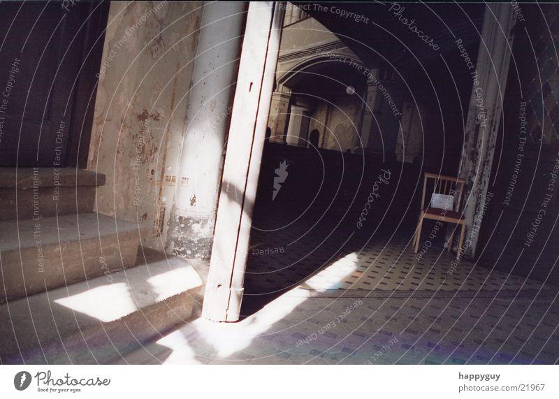 kirche Religion & Glaube Tür Treppe historisch
