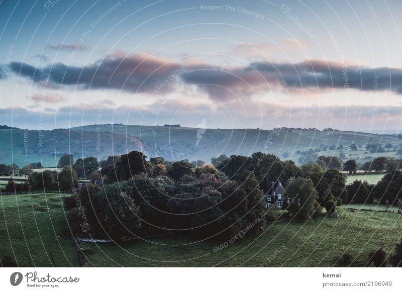 Morgenstimmung Lifestyle harmonisch Wohlgefühl Zufriedenheit Sinnesorgane Erholung ruhig Freizeit & Hobby Ausflug Freiheit Sightseeing Natur Landschaft Himmel