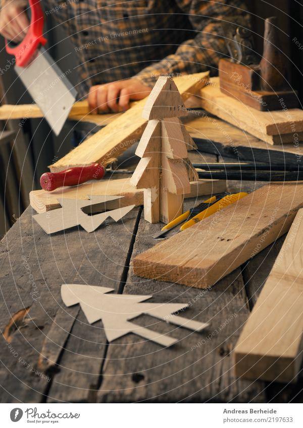 Weihnachtsdeko basteln Design Weihnachten & Advent Erwachsenenbildung Handwerker Arbeitsplatz Business retro Idee einzigartig Inspiration Kreativität shape