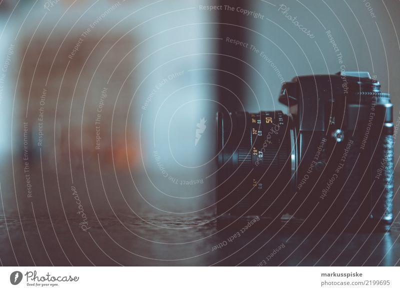 Analoge Spiegelreflexkamera Stil Design retro trendy analog Image