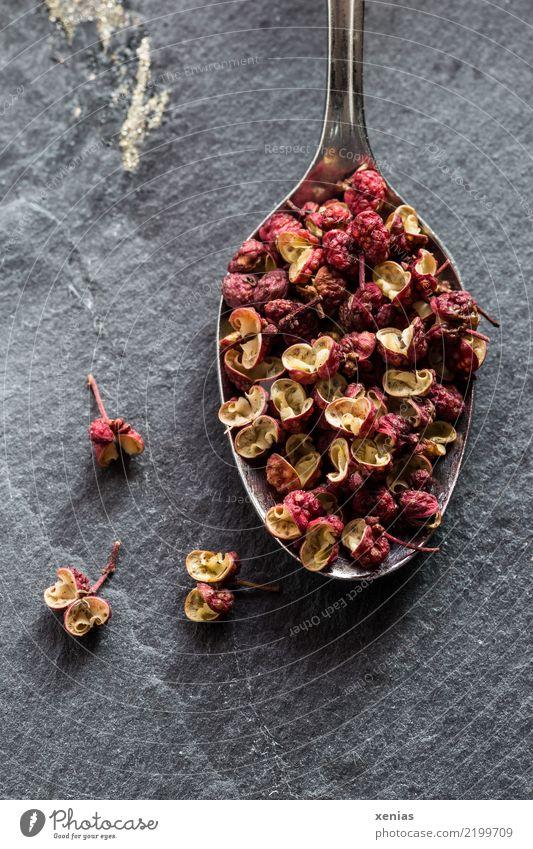Szechuanpfeffer, prickelnd im Geschmack rot schwarz Gesundheit braun Ernährung kochen & garen Kräuter & Gewürze lecker trocken Bioprodukte Duft China