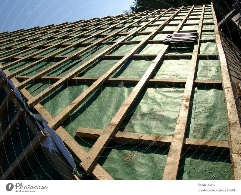 Dach Haus Architektur Backstein Folie