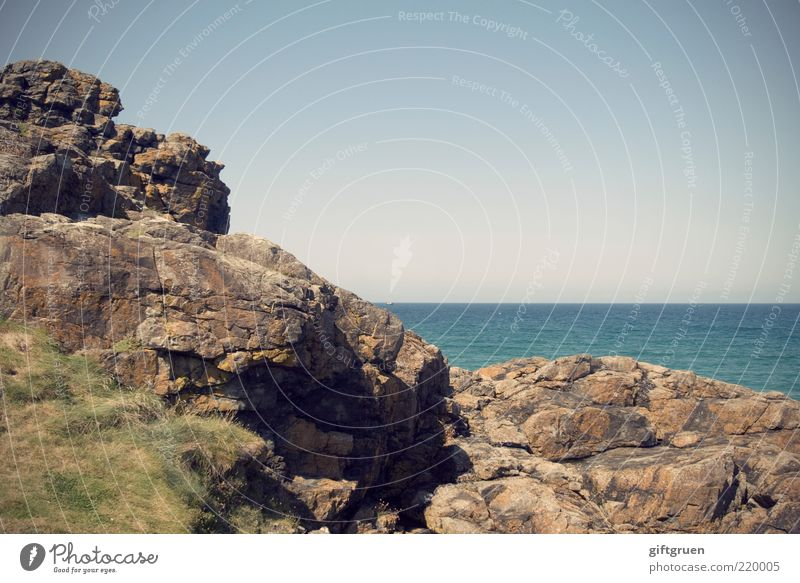 rocky Natur Wasser Himmel Meer blau Gras Stein Landschaft Küste Umwelt Horizont Felsen Europa Insel Aussicht Reisefotografie