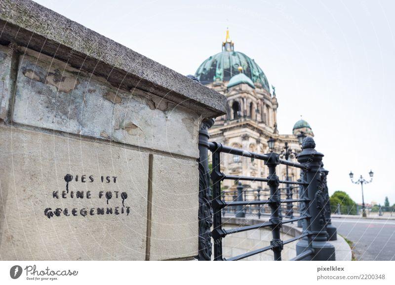 Keine Fotogelegenheit Ferien & Urlaub & Reisen Tourismus Sightseeing Städtereise Berlin-Mitte Deutschland Europa Stadt Hauptstadt Stadtzentrum Kirche Dom