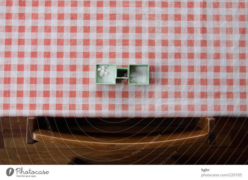 smile Holz lustig Kitsch Dekoration & Verzierung Kräuter & Gewürze Freundlichkeit Kunststoff positiv Verpackung Dose Kristalle kariert Salz Behälter u. Gefäße