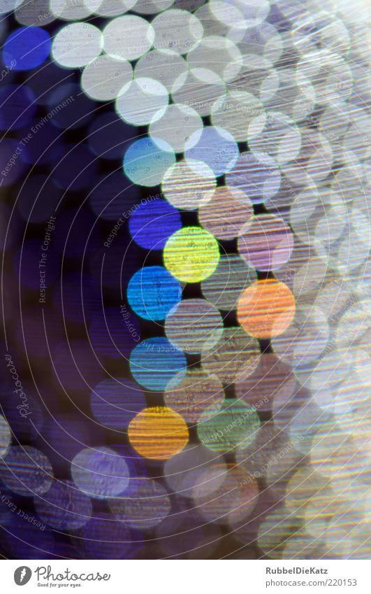 The Super Bling Bling schön grün blau rot schwarz gelb Stimmung Kunst gold Kreis violett abstrakt skurril Kultur Lichtbrechung Textfreiraum