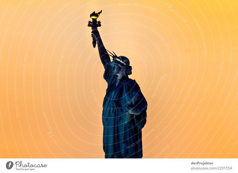 Das NY Klassikerbild 5 Ferien & Urlaub & Reisen Tourismus Ausflug Abenteuer Ferne Freiheit Sightseeing Städtereise Kreuzfahrt Hauptstadt Hafenstadt Architektur