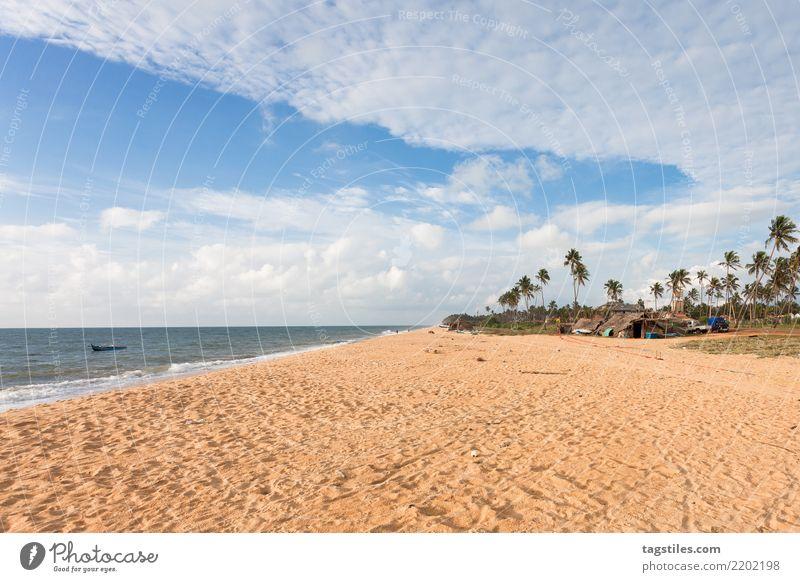 Toduwala Strand, Sri Lanka, Asien Natur Ferien & Urlaub & Reisen Sommer Wasser Sonne Landschaft Meer Erholung natürlich Küste Tourismus Freiheit Sand Idylle