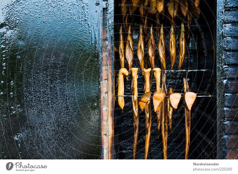 Es ist Freitag... Ernährung Metall Lebensmittel Fisch lecker Duft Fett hängen Mahlzeit Bioprodukte Imbiss Gastronomie Handwerk konservieren Hecht