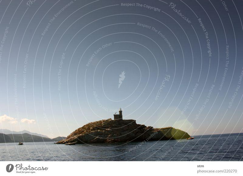 auf einsamen posten (beyond the sea [22]) Lifestyle Ferne Freiheit Sommer Sommerurlaub Sonne Meer Insel Wellen Natur Landschaft Wasser Himmel Wolkenloser Himmel