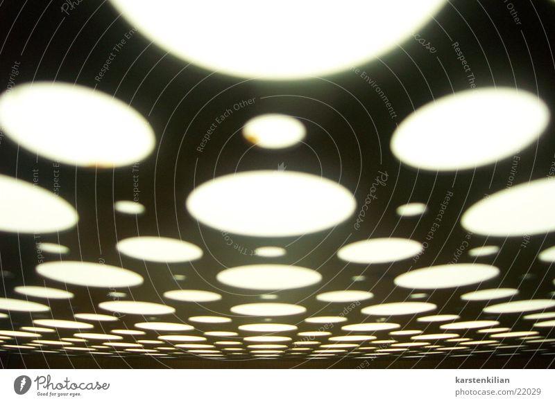Im Kreise weiß schwarz rund Strukturen & Formen obskur Metall Kreisfläche