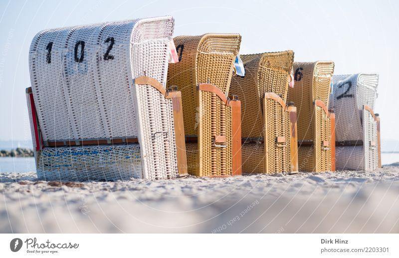 *500* Wellness Freizeit & Hobby Ferien & Urlaub & Reisen Tourismus Ausflug Ferne Sommer Sommerurlaub Sonnenbad Strand Meer Sand Küste Ostsee maritim Horizont