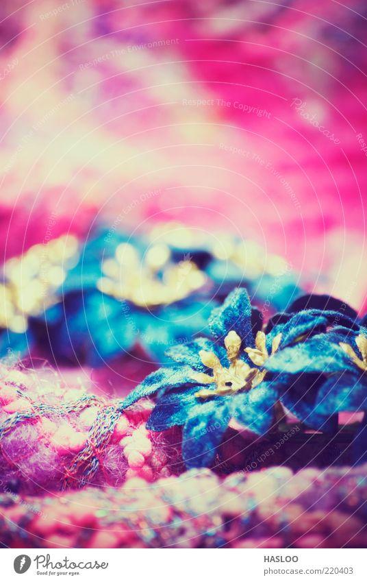 blau Farbe Blume Feste & Feiern Kunst hell rosa Dekoration & Verzierung weich neu Tradition Material Jahr Christbaumkugel filigran festlich