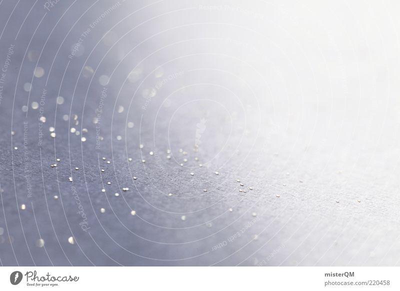 golden snow. weiß Winter kalt hell Beleuchtung Hintergrundbild elegant glänzend ästhetisch Dekoration & Verzierung weich leuchten Glätte Textfreiraum himmlisch