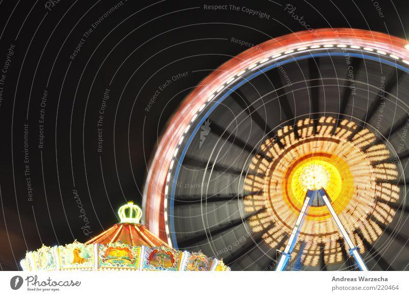Oktoberfest I alt blau rot Freude schwarz gelb dunkel Metall Lampe Linie hell Feste & Feiern Zufriedenheit Zeit glänzend hoch